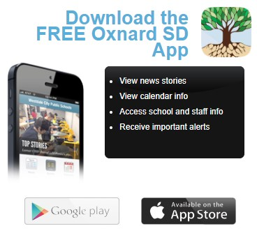 Oxnard School District Mobile App!